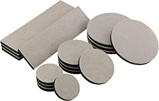 Smart Surface 8198 Hard Surface Reusable Furniture Felt Moving Sliders Combo Pack 16-Piece in Resealable Bag