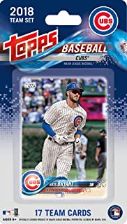 45660eff735 Chicago Cubs 2018 Topps Factory Sealed Limited Edition 17 Card Team Set  with Kris Bryant