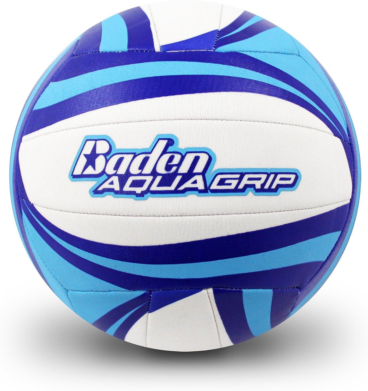 Baden Aquagrip Rapid rise Neoprene Volleyball Inexpensive Foam Wh Blue Flex
