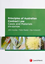 Principles of Australian Contract Law: Cases and Materials, 5th edition