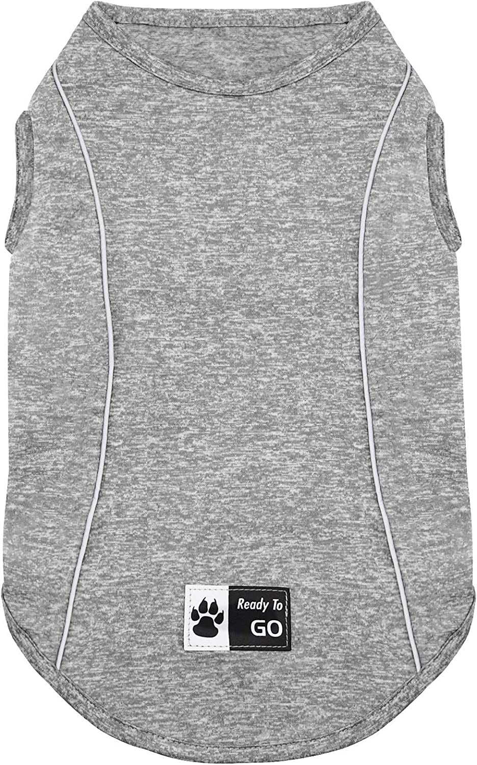KYEESE Dog Shirts Quick Dry Reflective Lightweight Soft Dog T-Shirt Tank Top Breathable Sleeveless Vest Dog Apparel : Pet Supplies