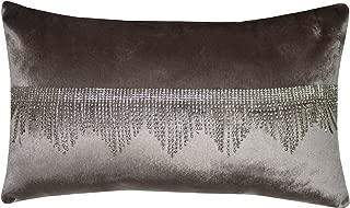 Filled Kylie Minogue Lolita Blush Velvet Diamante 24cm x 45cm Cushion Pillow Case Sham