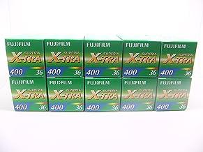 Fujifilm Superia X-Tra 400 Pellicule Photo N/égatif Couleur Format 135 Monopack 36 poses