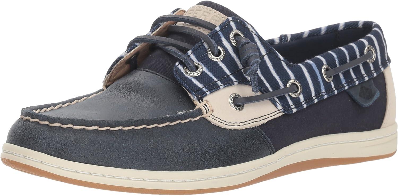 Sperry Women's Songfish Indigo Stripe Boat shoes