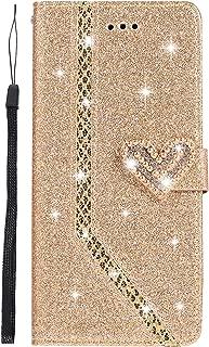 Homikon PU Leder H/ülle Spiegel Gl/änzend Glitzer Diamant Strass Schutzh/ülle Brieftasche Mirror Case Bookstyle Lanyard Handyh/ülle Standfunktion Tasche Kompatibel mit Samsung Galaxy A5 2016 Wei/ß