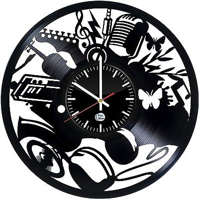 amazon fun door marvel handmade vinyl record wall clock for Best2017 SUV Interior fun door music vinyl record wall clock best gift