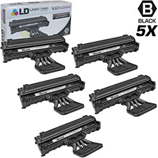 LD Compatible Toner Cartridge Replacement for Dell 310-6640 J9833 (Black, 5-Pack)