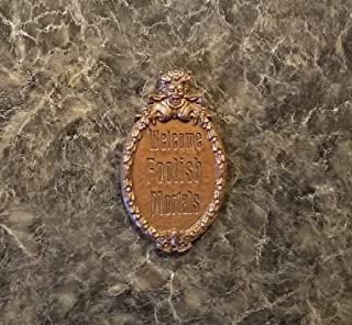Haunted Mansion Welcome Foolish Mortals Inspired Fridge Magnet (Park Prop Inspired Replica)