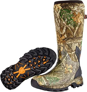 Men's Neoprene Muck Boot | Insulated Waterproof Rubber...