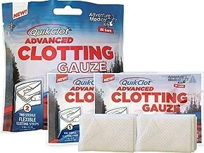 QuikClot Advanced Clotting Gauze - 3 x 24 in (Pack of 2)