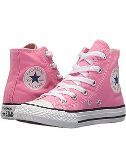 Girls High Tops Pink Sneakers