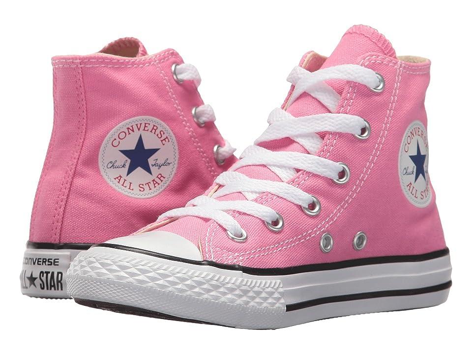 Converse Kids Chuck Taylor(r) All Star(r) Core Hi (Little Kid) (Pink) Kids Shoes