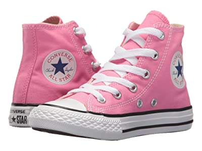 Converse Kids Chuck Taylor(r) All Star(r) Core Hi (Little Kid) (Pink) Kids Shoes