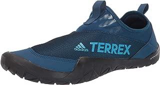 Men's Terrex Summer.RDY Jawpaw II Water Shoe, legend marine/shock cyan/Black, 12 M US