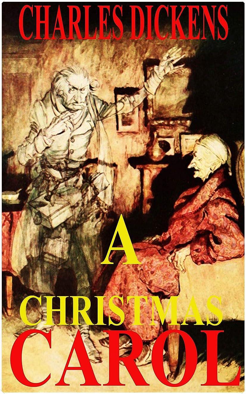 囲む剃るおめでとうA Christmas Carol by Charles Dickens (Illustrated) (English Edition)