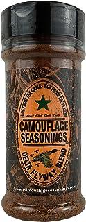 Camouflage Seasonings Delta Flyway Blend, poultry seasoning, waterfowl and upland game bird seasoning, pork seasoning
