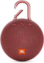JBL CLIP 3 - Waterproof Portable Bluetooth Speaker - Red