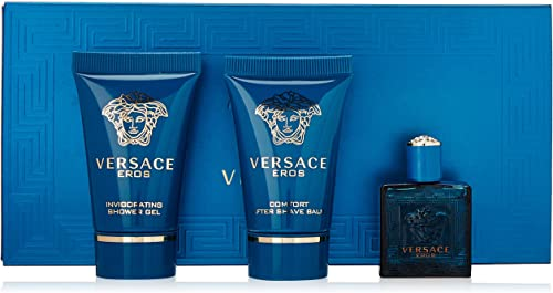 Versace Perfume - Versace Versace Eros 5ML EDT 3 Pcs. Mini Set - perfume for men