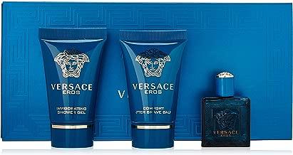 Versace Eros 3 Piece Mini Gift Set