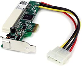 StarTech.com PCI Express to PCI Adapter Card - PCIe to PCI Converter Adapter with Low Profile / Half-Height Bracket (PEX1PCI1)