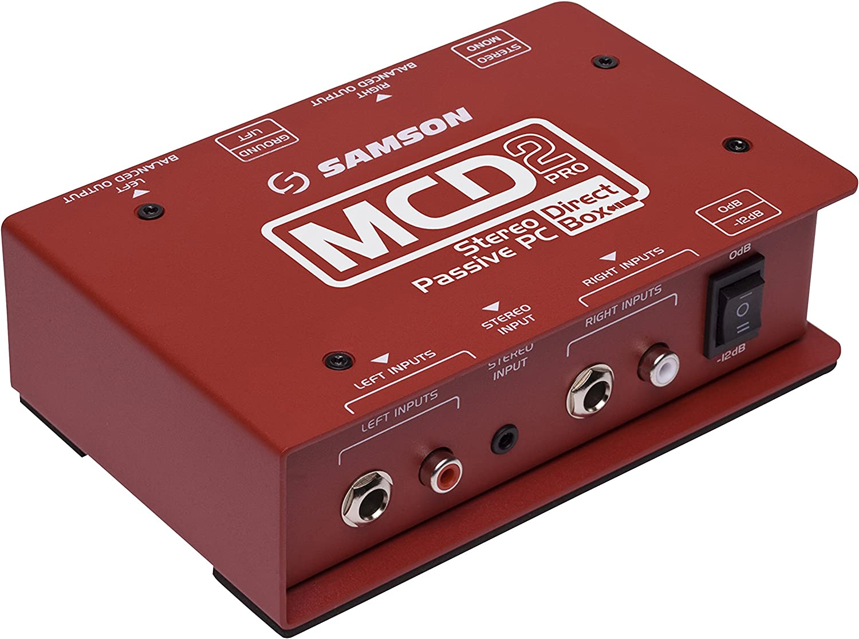 Samson Signal Direct Pro MCD2 free Outlet ☆ Free Shipping shipping Box
