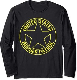 USA Border Patrol Costume Immigration Customs Enforcement Long Sleeve T-Shirt