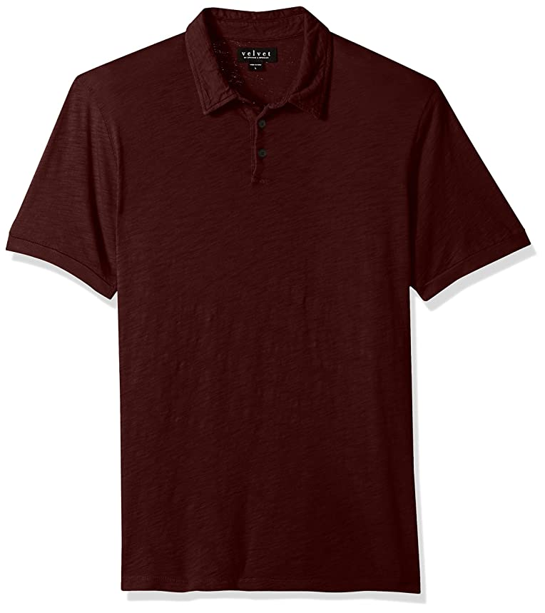 Velvet by Graham & Spencer Men's Randall Ss Polo Shirt