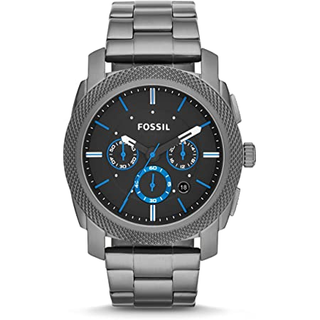 Fossil Men's Machine Stainless Steel Quartz Chronograph Watch