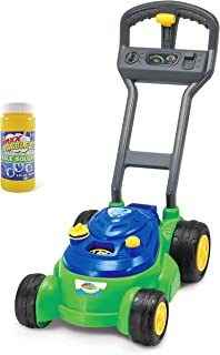 Sunny Days Entertainment Maxx Bubbles Bubble-N-Go Toy Mower with Refill Solution