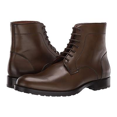 Massimo Matteo 7-Eye Boot (Olive/Green) Men