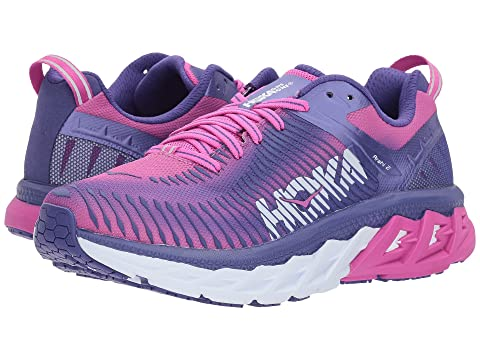 Hoka One One Shoes , LIBERTY/FUCHSIA