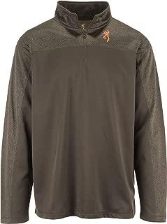 Men's Milo Quarter-Zip Fleece Pullover Shirt