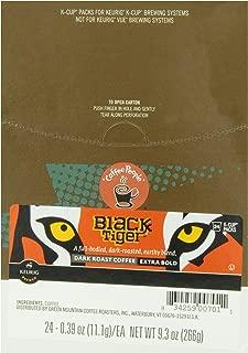 Coffee People Black Tiger Dark Roast, 24-Count K-Cup Portion Pack for Keurig Brewers