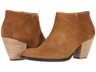 ECCO Shape 55 Western Ankle Boot (Camel) Women