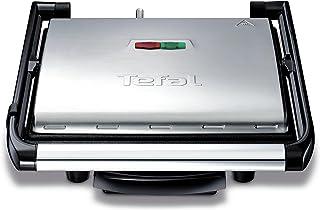 Tefal GC241D Inicio grill contactgrill - Hoogwaardige RVS behuizing - Compact design en eenvoudige bediening
