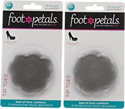 Foot Petals - Tip Toes Technogel 2-Pair Pack