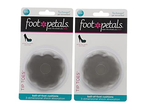 Foot Petals Tip Toes 3-Pack Assorted Y2J6lc