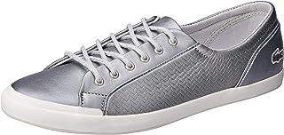Lacoste Lancelle Sneaker 119 2 Women's Fashion Shoes, SLV/Off WHT