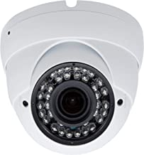 5MP 4MP Dome Super Hybrid Security Camera Vonnision 1080P HD-TVI/CVI/AHD/960H CCTV Surveillance Security Camera 2.8-12mm Varifocal Lens Waterproof Day&Night Vision Outdoor/Indoor 98ft IR Camera White