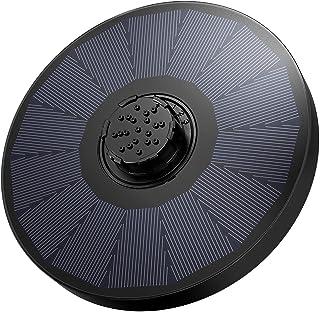 OKMEE Solar Fountain Upgraded 4-in-1 Nozzle, 2.2W Solar Powered Fountain Pump with 4 Water Styles, Solar Bird Bath Fountai...
