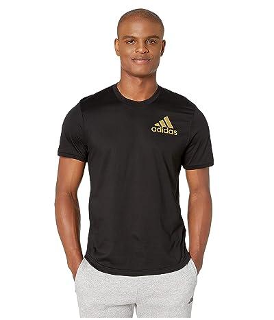 adidas Sport ID Metallic Tee (Black) Men