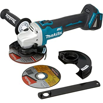 "Makita XAG09Z 18V LXT Lithium-Ion Brushless Cordless 4-1/2""/5"" Cut-Off/Angle Grinder"