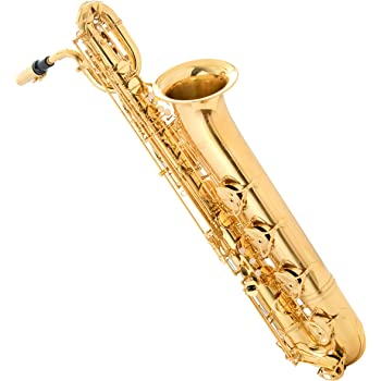 Singer's day SDBS-2001 Low A Baritone Saxophone Low A to High F# Lacquered Brass with Hand Engraved Bell
