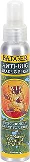 Badger Anti-Bug Repellent Shake & Spray - 4 oz