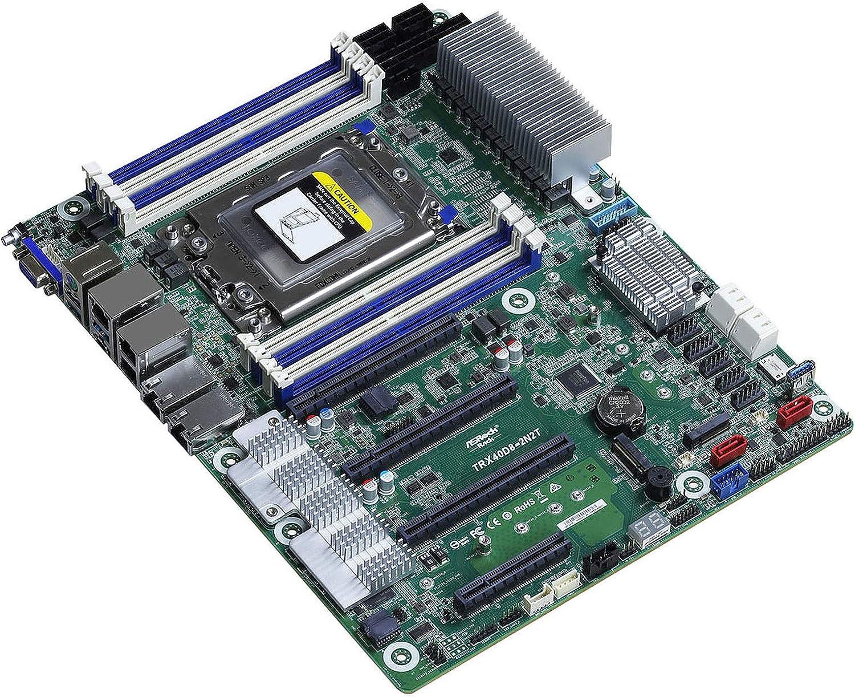 ASRock Rack OFFicial shop Max 78% OFF TRX40D8-2N2T AMD SATA3USB3.1 DDR4 sTRX4 V2GbE