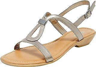 Sandler Sasha Women Shoes, Pewter Metallic