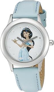 ساعة ديزني ذا برينسيس آند ذا فروج كيدز W002379 جاسمين التناظرية كوارتز زرقاء