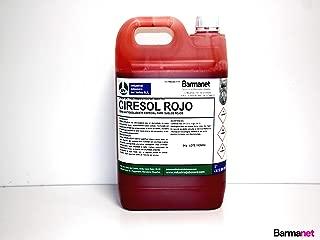 CIRESOL ROJO cera anti-deslizante suelos rojos 5 kg.