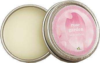 Rose Garden Natural Solid Perfume (Rose Garden, 0.25 oz tin jar)