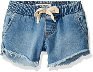 BILLABONG Girls G201VBWI Wild Sun Denim Short Casual Shorts - Blue